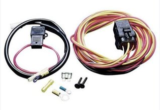 spal 185fh spal® electric fan wiring harness kit  holley