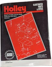 Holley Illustrated Parts & Specs Guide