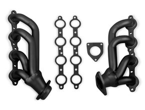 Flowtech Shorty Headers - Black Painted
