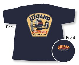 Navy Blue Weiand Retro T-Shirt (Large)