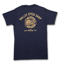 Holley Speed Shop Navy Blue T-Shirt