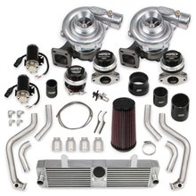STS Turbo Remote Mounted Twin Turbo System - Without handheld/fuel injectors