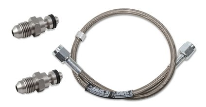 Clutch Hose - with Stainless Steel Adapters & Speedflex Hose - 36